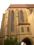 St. Jacob's Cathedral inside classic city of Rothenberg