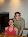 Me and my sister, Sarah.