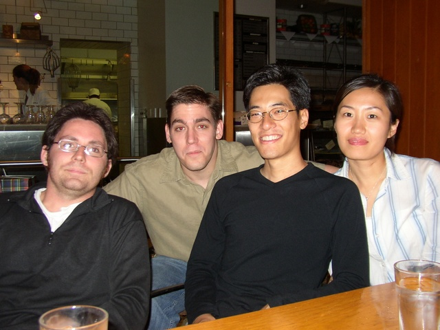 From left to right: Chris, Me, Daw-an and Yunah.