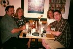 Breakfast at McCormick's.  Around the table: Paul & Rose (my Mom), Robyn (my Aunt), and me.  Pauline took the photo.
