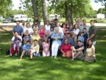 The Haleck Family Photo (a second take; slightly blurry)