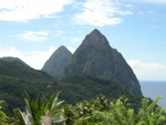 Pitons View again.  It was an awesome view!