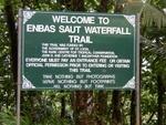 Enbas Saut Waterfall Hiking Trail