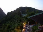 The Ladera Resort Hotel Rooms as seen from Restaurant