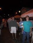 Ben, Pauline, and Becky at the Seafood Market at Anse La Raye